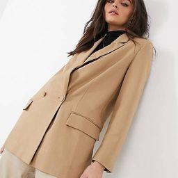 ASOS DESIGN perfect blazer in camel | ASOS (Global)