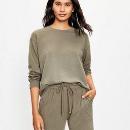 Lou & Grey Summersoft Sweatshirt   LOFT