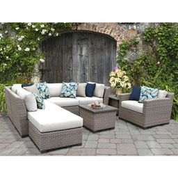 Merlyn 6 - Person Seating Group with Cushions   Wayfair North America