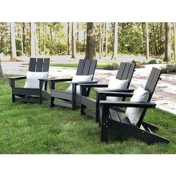 Aviana Plastic/Resin Adirondack Chair (Set of 4)   Wayfair North America