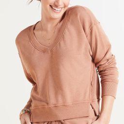Camila V Neck Sweatshirt | Evereve