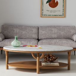 Arches Oval Coffee Table | Anthropologie (US)