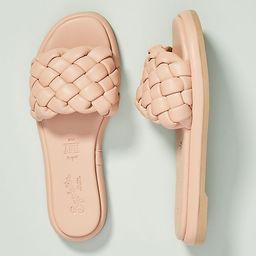 Seychelles Puffy Woven Slide Sandals | Anthropologie (US)