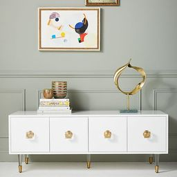 Lacquered Regency Media Console | Anthropologie (US)