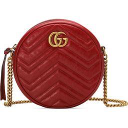 Gucci Mini GG Matelassé Round Leather Shoulder Bag   Nordstrom   Nordstrom