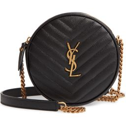 Saint Laurent Vinyle Matelassé Leather Crossbody Bag   Nordstrom   Nordstrom