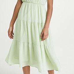 Smocked Tiered Maxi Dress | Shopbop