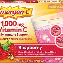 Emergen-C 1000mg Vitamin C Powder, with Antioxidants, B Vitamins and Electrolytes, Immunity Suppl...   Amazon (US)