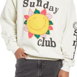 Sunday Club Sweatshirt   Nordstrom