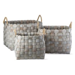 Catalpa Set of 3 Woven Oval Baskets | Nordstrom