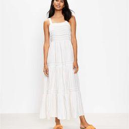Striped Tiered Maxi Dress   LOFT   LOFT
