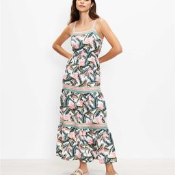 Paradise Tiered Maxi Dress   LOFT   LOFT