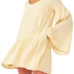 Kyleigh Woven Long Sleeve Minidress   Nordstrom