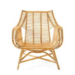 Venice Rattan Chair - Natural | Serena and Lily