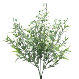 Frosted Lily of The Valley Greenery Bush Flowering Plant | Wayfair North America