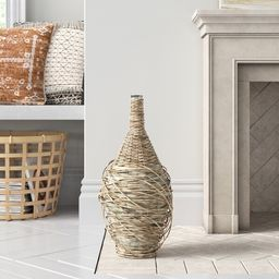 Zachery Brown Glass Decorative Bottle | Wayfair North America