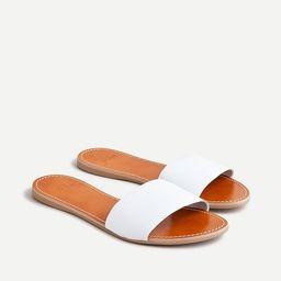 Capri slide sandals | J.Crew US
