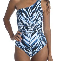 Animal Instinct One-Shoulder One-Piece Swimsuit | Nordstrom