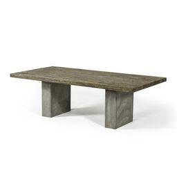 Alexander Oak Wood Dining Table | Wayfair North America