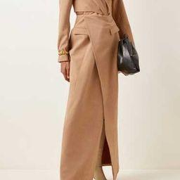 Anja Cutout Wool-Blend Dress | Moda Operandi (Global)