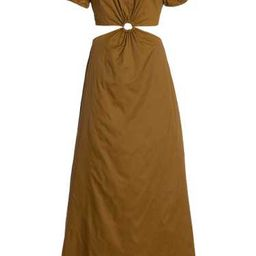Calypso Cutout Shell Maxi Dress | Moda Operandi (Global)
