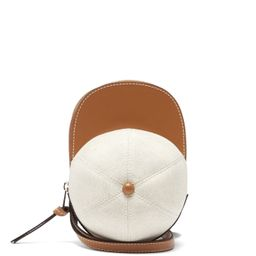 Cap canvas and leather cross-body bag | JW Anderson | Matchesfashion (Global)