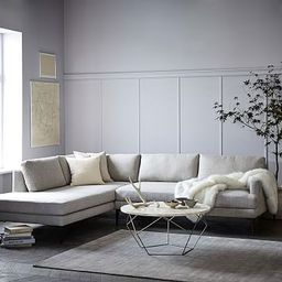 Andes 2-Piece Terminal Chaise Sectional   West Elm (US)