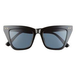 50mm Cat Eye Sunglasses | Nordstrom
