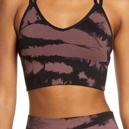 Tie Dye Seamless Sports Bra | Nordstrom
