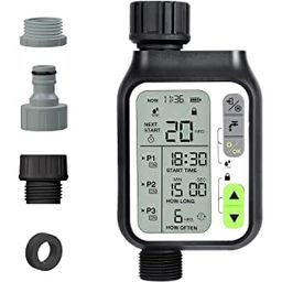 Kazeila Sprinkler Timer, Water Timer with 3 Separate Watering Programs Hose Timer with Rain Senso...   Amazon (US)