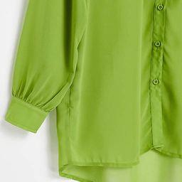 Public Desire beach shirt in olive   ASOS (Global)