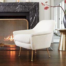 Phoebe Chair - Metal Legs | West Elm (US)