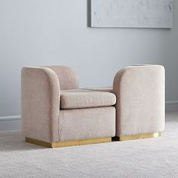 Roar & Rabbit™ Tete-a-Tete Chair | West Elm (US)