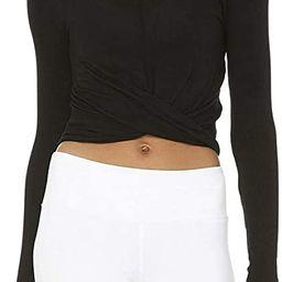 Bestisun Long Sleeve Yoga Crop Tops Cropped Sweatshirts Lightweight Stretch Exercise Athletic Shi... | Amazon (US)