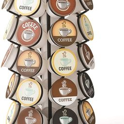 K-Cup Carousel - Holds 35 K-Cups in Black   Amazon (US)