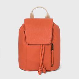 Drawstring Closure Soft Flap Backpack - Universal Thread™ | Target