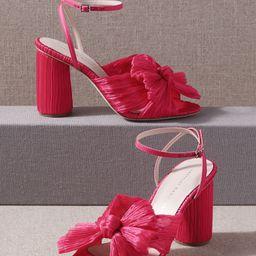 BHLDN's Loeffler Randall Loeffler Randall Camellia Heels in Fuschia | BHLDN