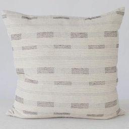 Neutral black Stripe Pillow Pillows with Stripes Boho Pillow   Etsy   Etsy (US)
