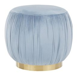 Belrose Ruched Pouf   Wayfair North America