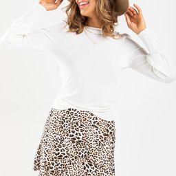 Ciara Puff Sleeve Top | Francesca's Collections