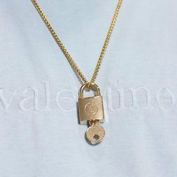 Vintage Rare Louis Vuitton Custom Padlock Chain Necklace | Etsy | Etsy (US)