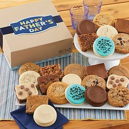 Cheryl's Father's Day 24-Piece Cookie & BrownieGift | QVC