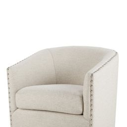 Leominster 28'' Wide Swivel Barrel Chair | Wayfair North America
