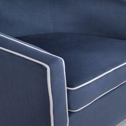 Allynn 29.75'' Wide Velvet Swivel Barrel Chair | Wayfair North America