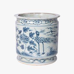 Blue Orchid Pot   Dear Keaton