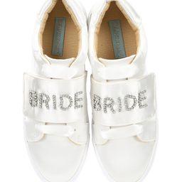 Blue by Betsey Johnson Liana Satin Jeweled Bride Sneakers | Dillards