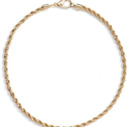 Classic Rope Chain Necklace | Nordstrom