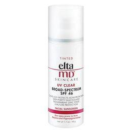 EltaMD UV Clear Broad-Spectrum SPF 46 Sunscreen - Tinted   LovelySkin