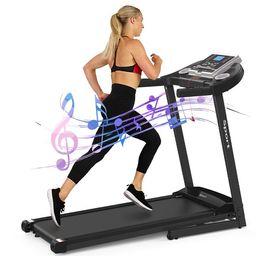 Electric Folding Treadmill for Home, Foldable & Portable Walking Running Machine Space Saving Com...   Walmart (US)
