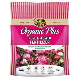 Kellogg Garden Organics 3.5 lb. Organic Rose and Flower Fertilizer-3003 - The Home Depot   The Home Depot